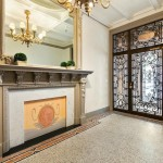 5 East 75th Street, historical limestone mansion, original millwork