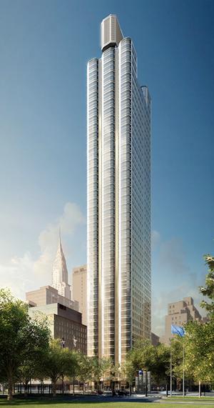 Zeckendorf Development, Foster and Partners, The UN, Turtle Bay, Trump World tower