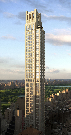 45 East 60, UES, Central Park, Manhattan, skyline, most expensive, $130, penthouse, Zeckendorf, RAMSA