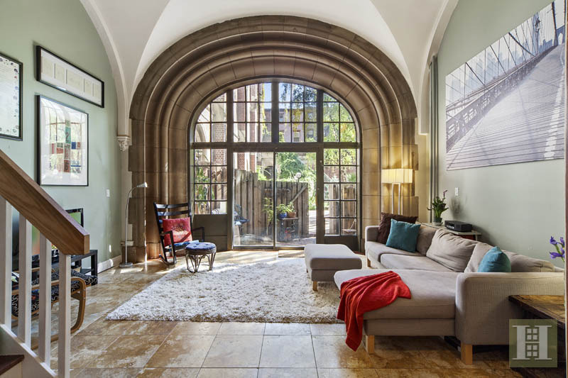 Fort greene condo in former seminary has us praising its for Condominium for sale in nyc
