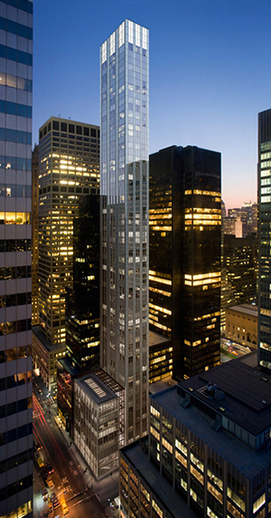 RFR, Shangri La, NYC, Lexington, Midtown East, high-rise, slender, tall, Norman Foster, Seagram, zoning, hotel