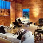 Bates Masi + Architects, Fire Island, Tree House, Cypress wood, fir wood, oak wood, roughly cut wood