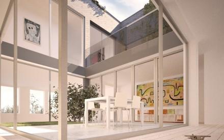 Brooklyn Courtyard House, DXA Studio, Cobble Hill