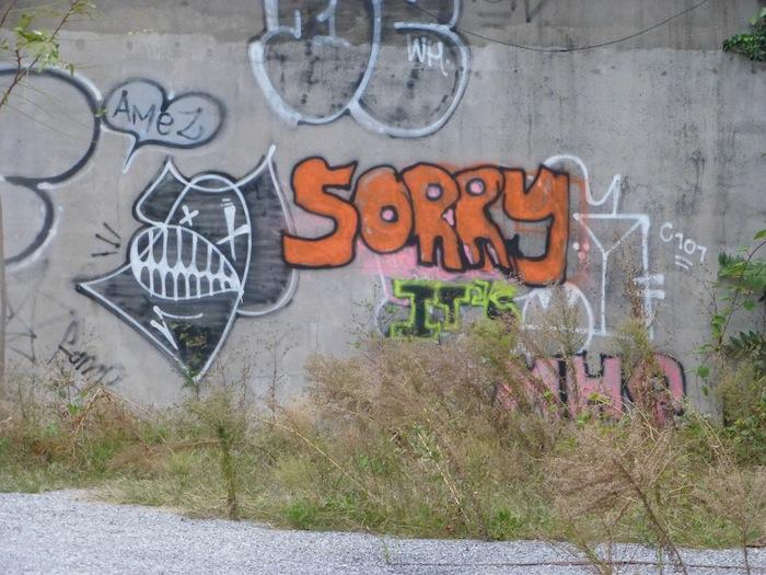 Graffiti, Street Art, Hope Street, Williamsburg, Brooklyn