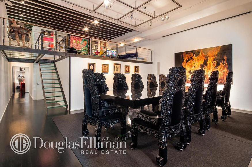 live-work loft soho, gallery style loft soho, art dealer loft for sale