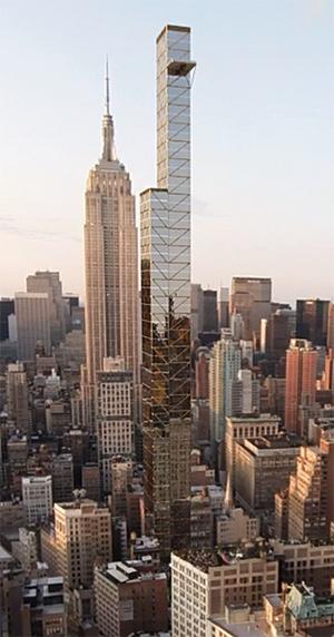 NoMad, Chelsea, Mystery Skyscraper, NYC supertalls