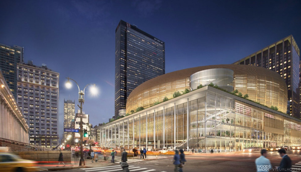 Urban planners propose moving madison square garden to Grand central to madison square garden
