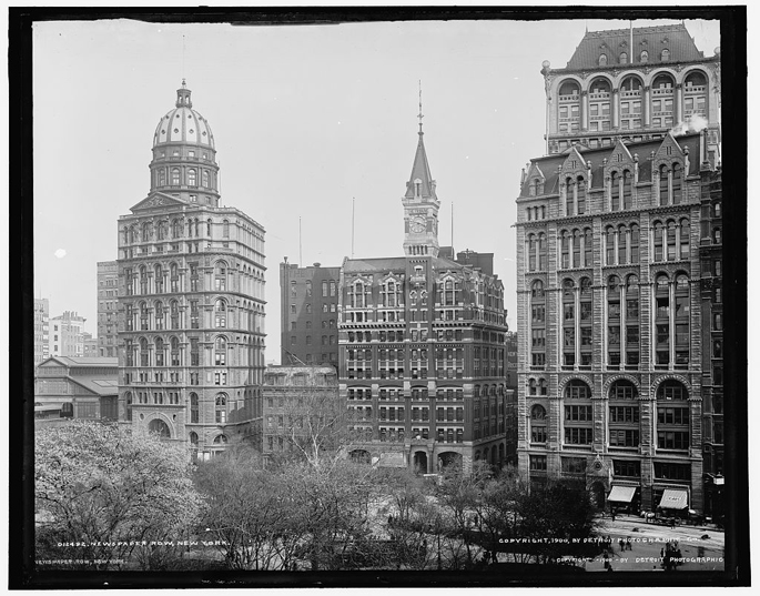 Newspaper Row-New York Times Building-NYC
