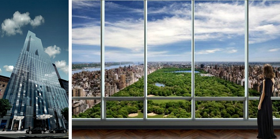 One57, 157 West 57th Street, One57 penthouse, Bill Ackman