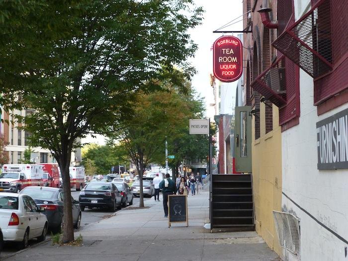 Hope Street, Roebling Street, Roebling Tea Room, Williamsburg