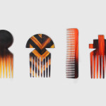 Studio Swine, Hair Highway, hair objects, Anglo-Japanese design, China, Silk Road, vases, combs,