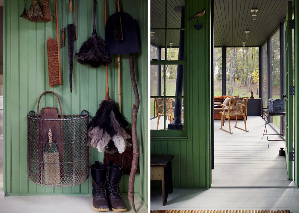 Tsao & McKown, 1850's farmhouse renovation, charming weekend retreat, Danish design, Christopher Dresser, Hans Wegner, Rhinebeck, shaker design, worldwide crafts