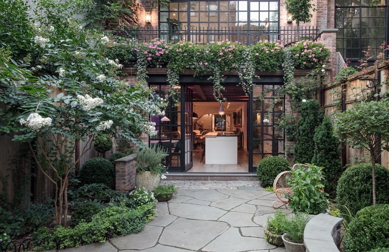 West Village Townhouse Garden Terrace 6sqft