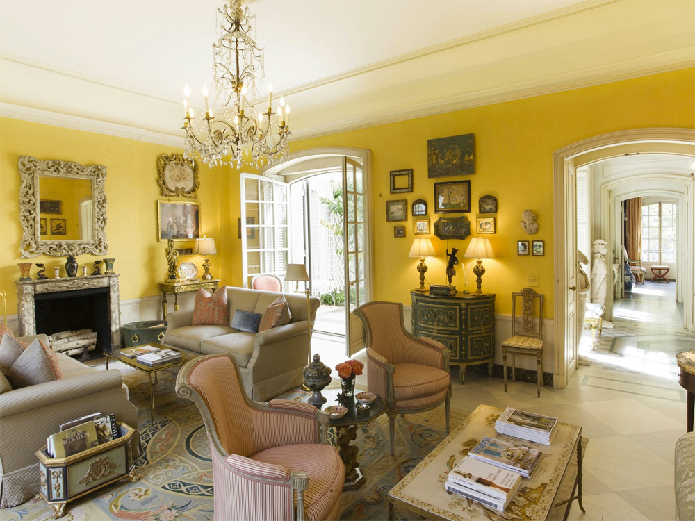 Bunny mellon 39 s incredible upper east side mansion finds a for Furnishing a new house