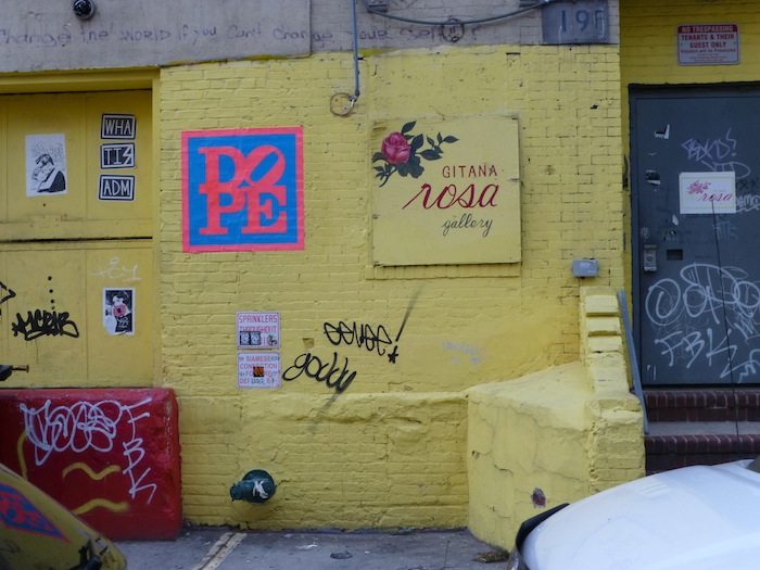 Gitana Rosa, Gallery, Hope Street, Williamsburg, Brooklyn