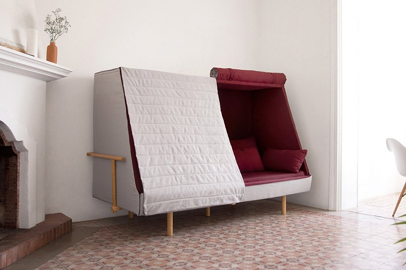 Goula Figuera Designs Hybrid Bed Sofa Cabin To Recapture