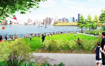 james corner field, east river waterfront, brooklyn real estate,