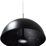 Planetarium pendant light, star light fixture, constellation