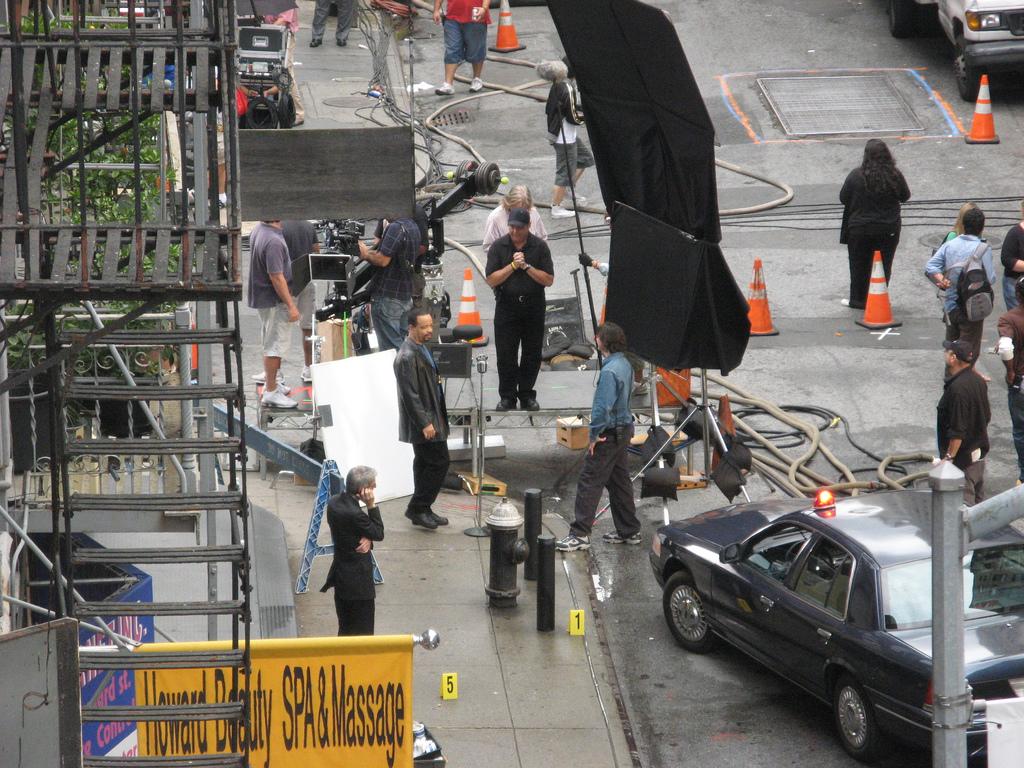 SVU, Movie Set, Film Shoot, NYC