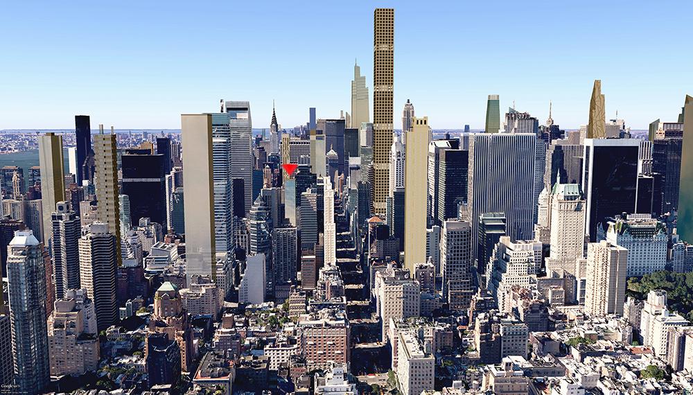 Manhattan skyline, future nyc, 118 east 59th, 432 Park Avenue, Worldwide Group, 252 East 57th, SCDA, SLCE, Vinoly