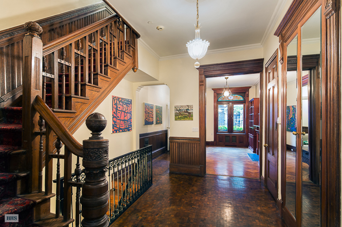 Picturesque Upper West Side Brownstone with Skylit Art ...