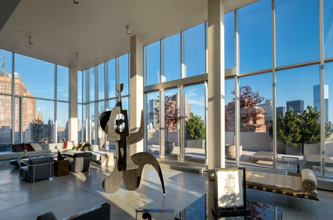 Carmelo and lala anthony step up penthouse search and tour for 22 river terrace ny ny
