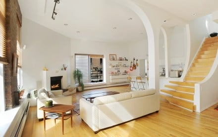 19 Bond Street, Naomi Watts former residence, Alan Rickman house hunted, roofdeck and archways