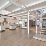 481 Greenwich Street, multilevel deck, cantilevered solid oak and steel staircase, customizable home