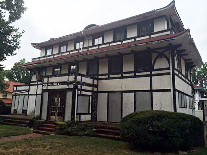 84-62 beverly road queens, anglo japanese house