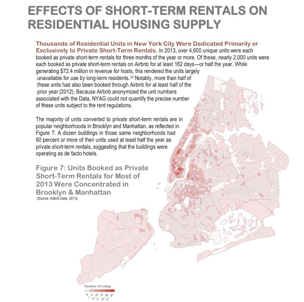 Airbnb, Attorney General, Eric Schneiderman, NYC, Illegal Hotel