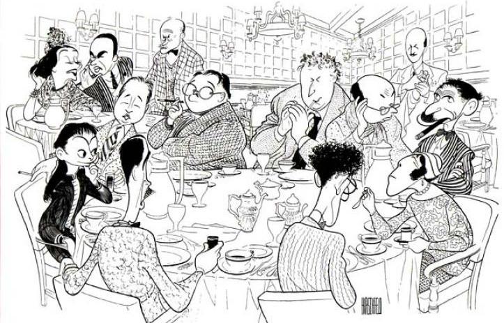 Algonquin Round Table, Al Hirschfeld, Algonquin Hotel