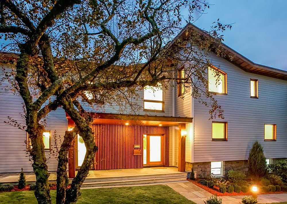 Andreas M. Benzing, Westchester County's first certified Passive Home, LEED certified, Passive House, Marmaroneck Harbor, energy-recovery ventilator, sun power, ultra energy-efficient