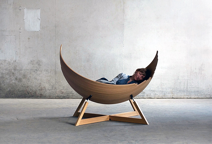 Viking-Inspired Barca Bench Fuses Furniture With Boat ...