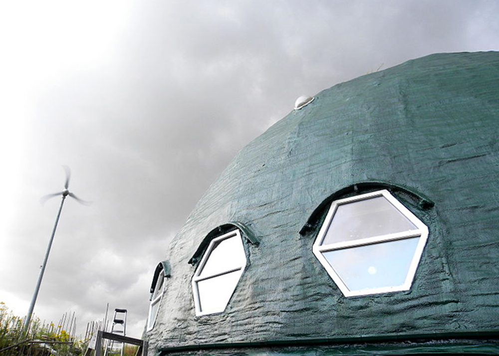 Long island 39 s green dome is the largest geodesic dome home Longest house in the world