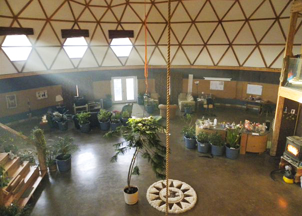 Long Islands Green Dome Is The Largest Geodesic Home