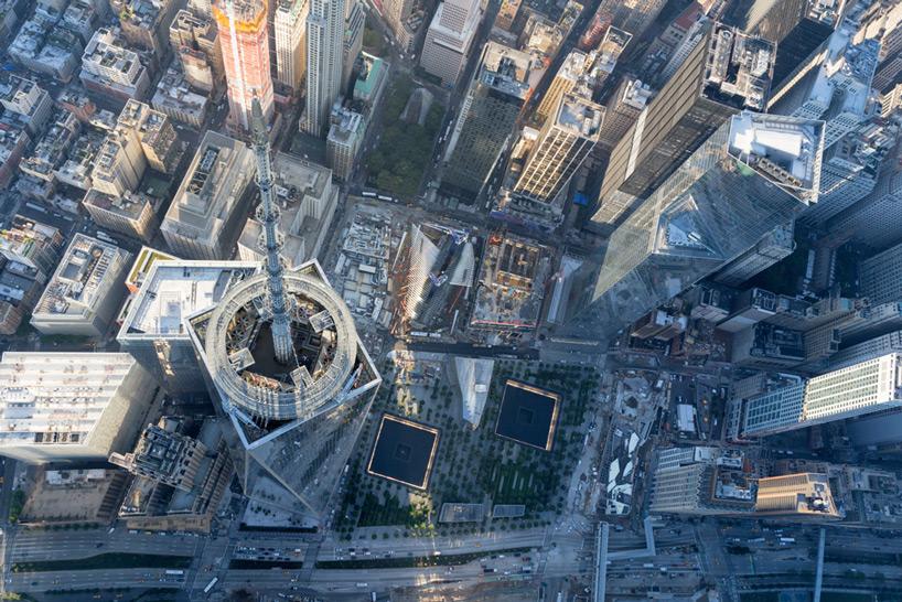 One World Trade Center parapet