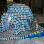 Polarized Against Hunger by GACE Consulting Engineers, canstruction 2013, canstruction 2014, canstruction
