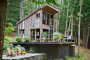 Fashion Stylist Scott Newkirk Goes Unplugged in His 14×14 Rough-Hewn Cabin