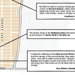 Upper East Side Literary Map, Warby Parker
