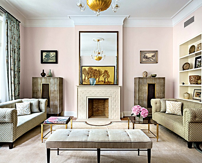 Breathtaking upper east side townhouse boasts four year for New york townhouse interior