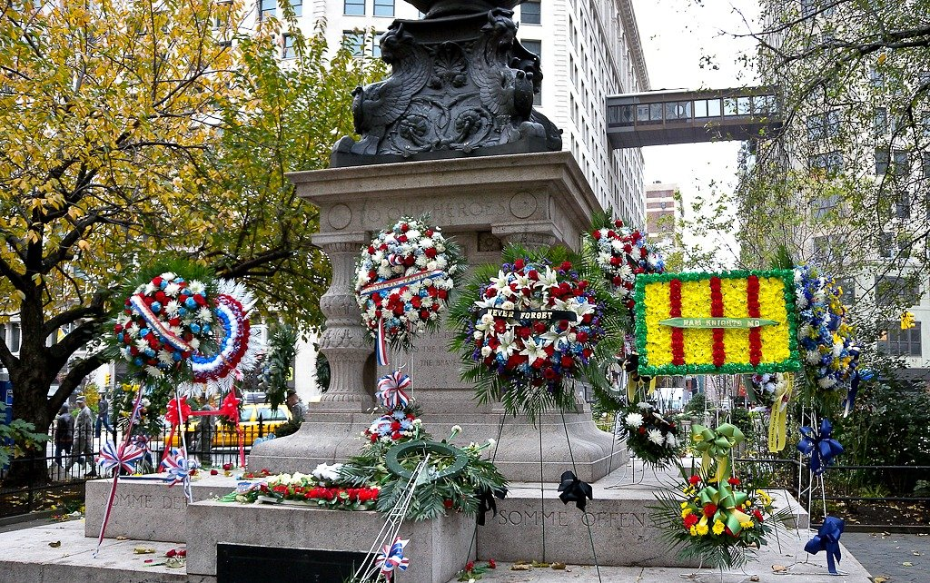 Veterans Day Wreath Laying Ceremony, NYC Veterans Day Parade