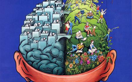 brain, brain cartoon