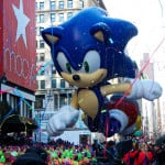 macys thanksgiving day parade, sonic the hedgehog
