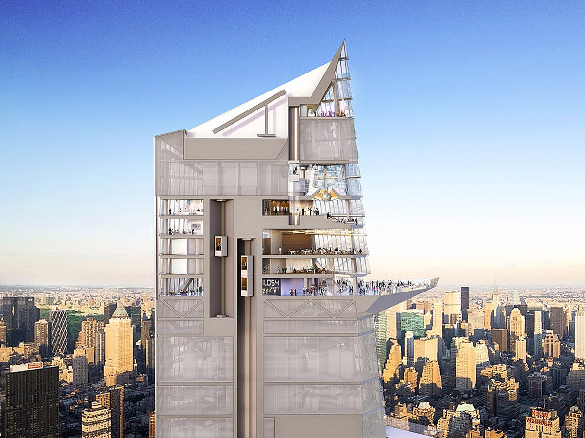 Hudson Yards Observation Deck Will Offer A Death Defying