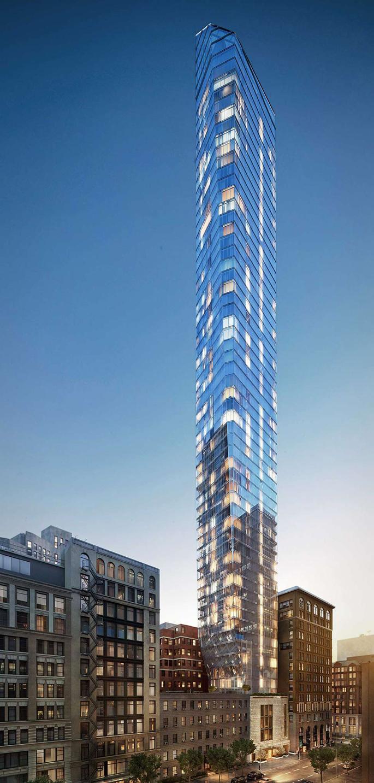 45 East 22nd Street, KPF tower, KPF tower nyc, super skinny flatiron tower