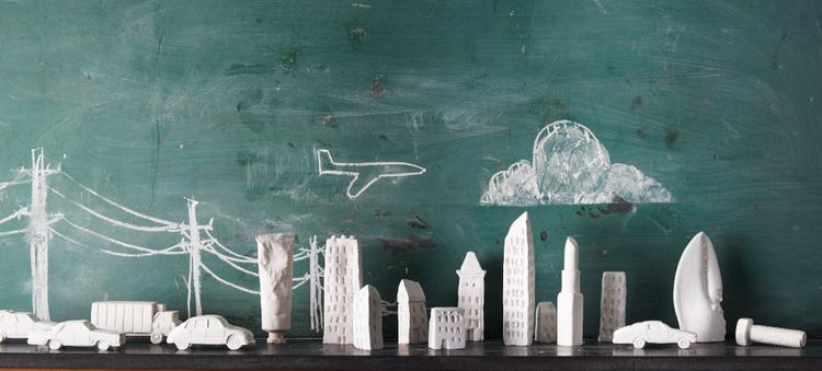 Chalk Ware, Matt Austin Studio, sculptural chalk