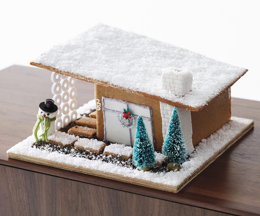DIY Modernist Gingerbread_House by design within reach