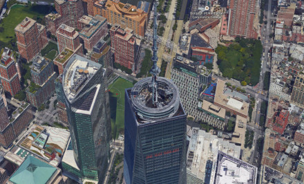 Google-Maps one world trade center