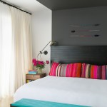 Jessica Helgerson interior Design, Chelsie Lee, bold colors, couch of vintage Peruvian blankets