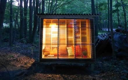 "relaxshacks.com, relax shacks, Derek ""Deek"" Diedricksen, deek Diedricksen, tiny home, study pod, tiny cabin, woodland cabin"